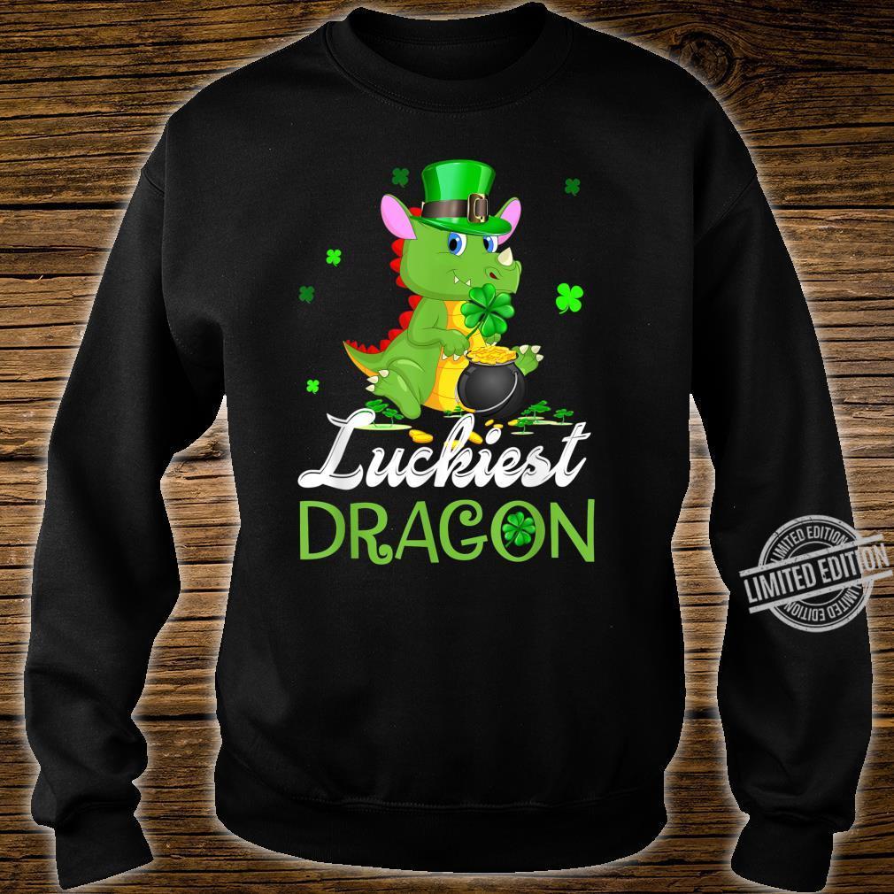 Luckiest Dragon St Patricks Day Dragon Shirt sweater