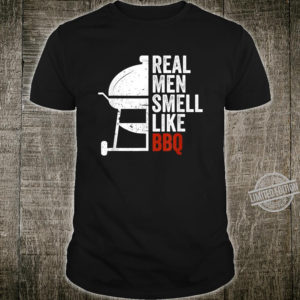 Mens Real Smell Like Barbecue Design for BBQ Season Shirt