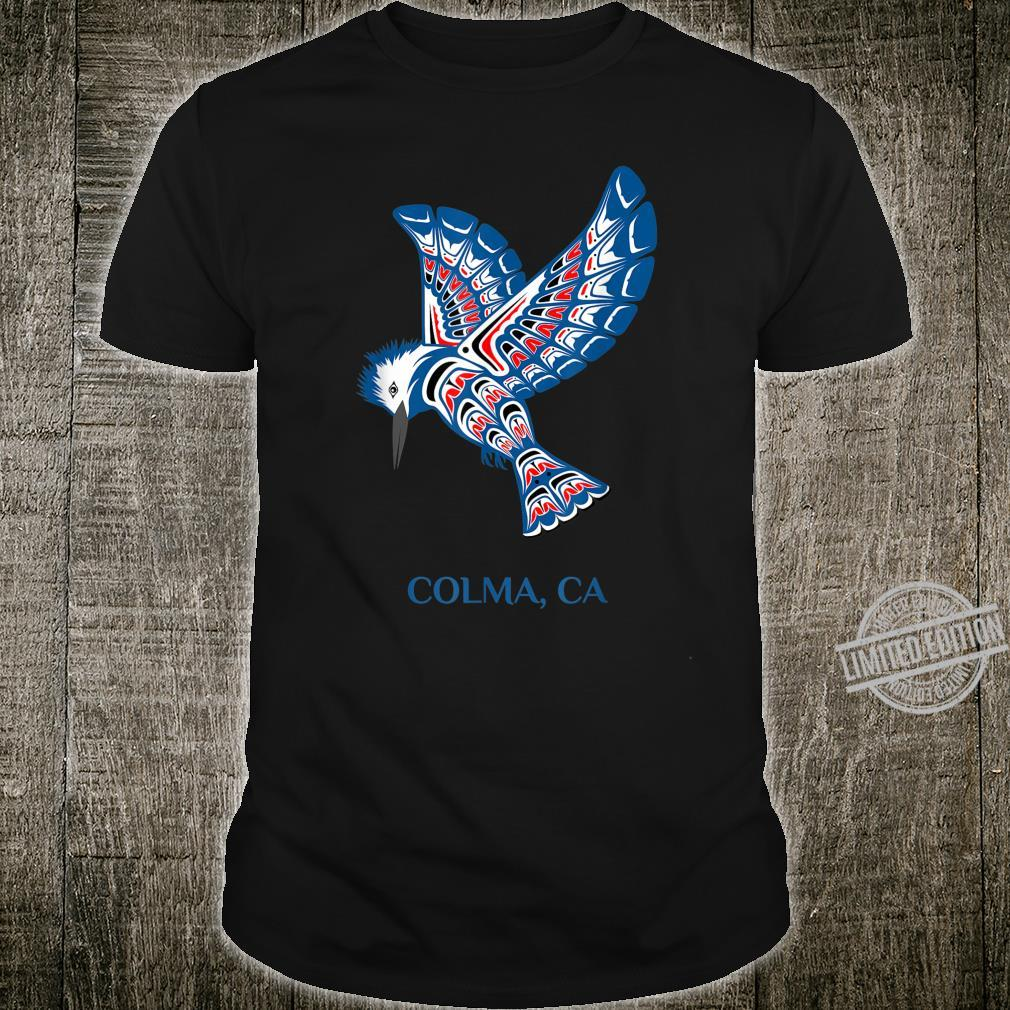 Native American Colma Kingfisher Bird California Shirt