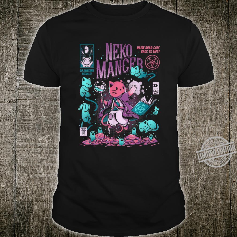 Nekomancer Cat Shirt