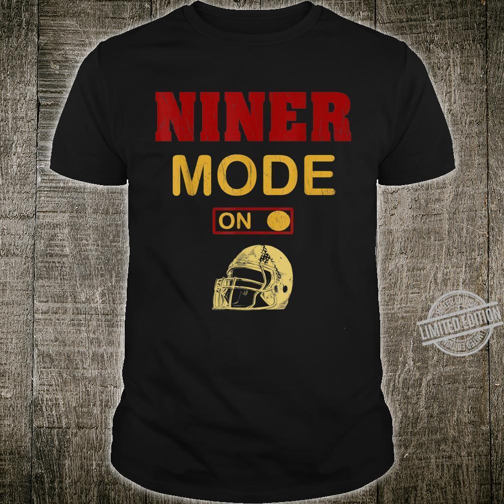Niner Mode San Francisco Distressed Red And Gold Football Shirt