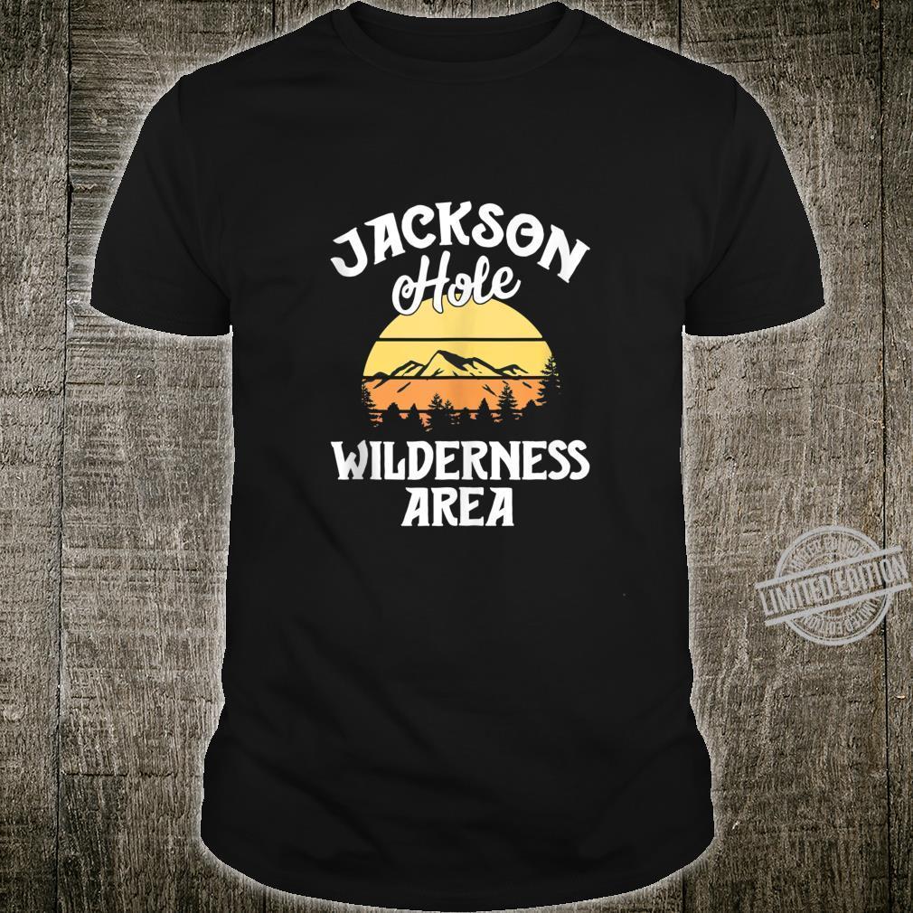 Retro Jackson Hole Wyoming Vintage Wilderness Area Shirt