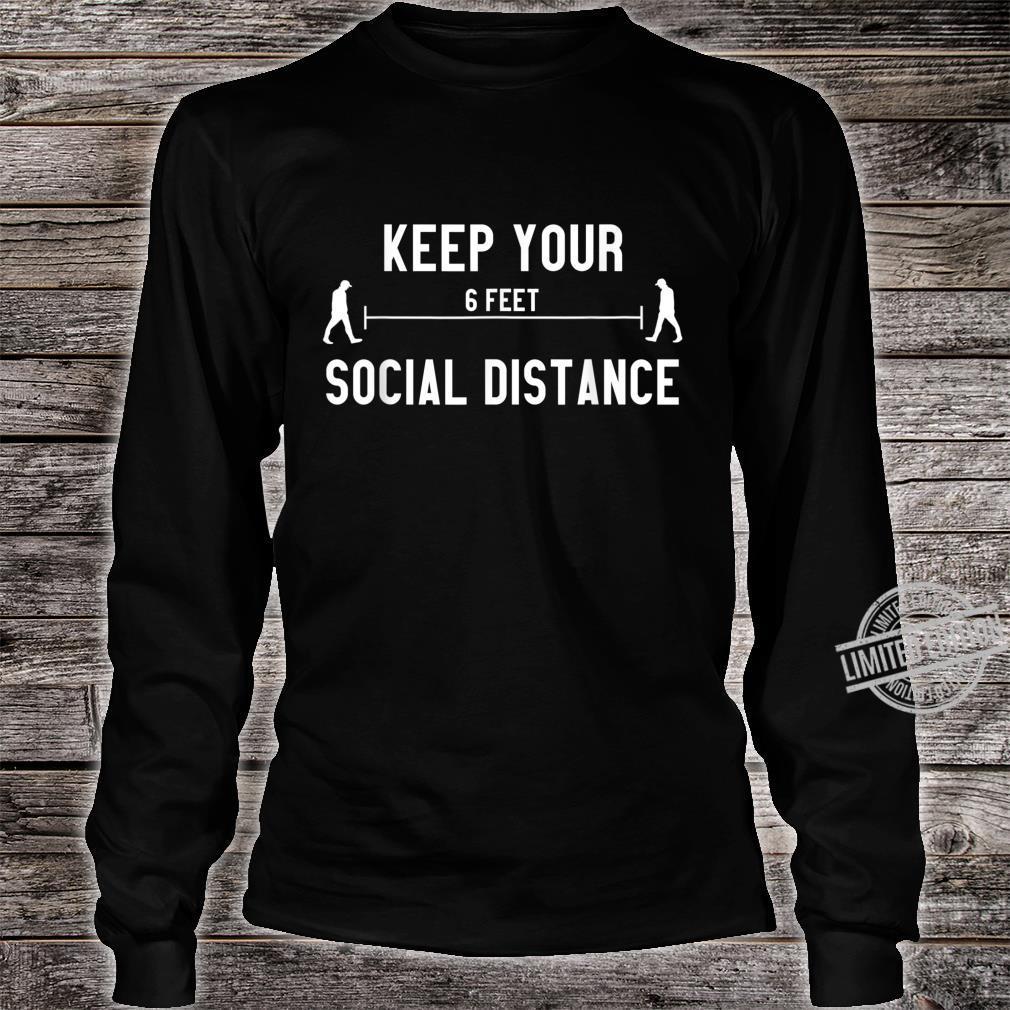 Social Distancing Social Distance Shirt long sleeved
