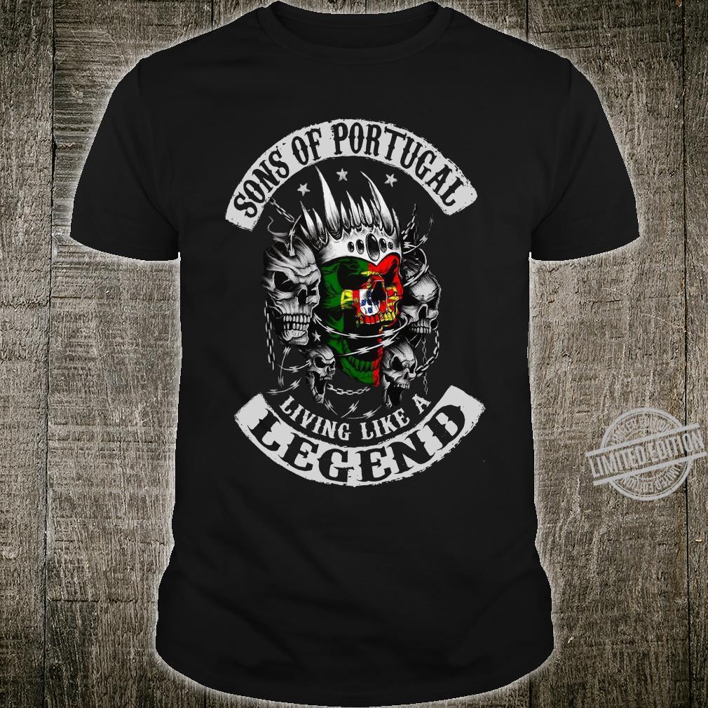 Sons Of Portical Living Like A Legend Long Sleeve Shirt