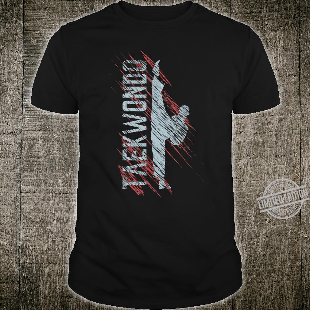Taekwondo TKD Karate Martial Arts Shirt
