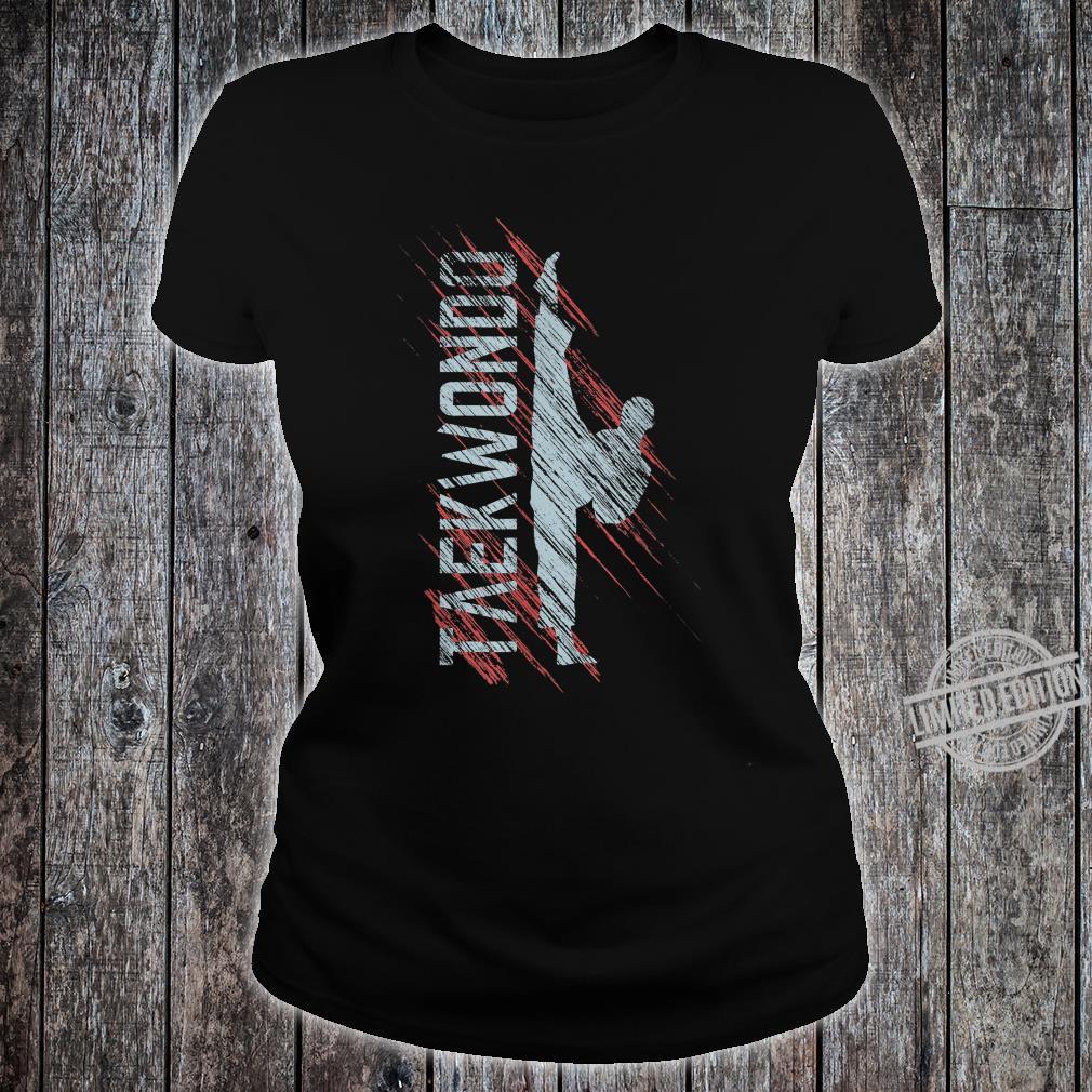Taekwondo TKD Karate Martial Arts Shirt ladies tee