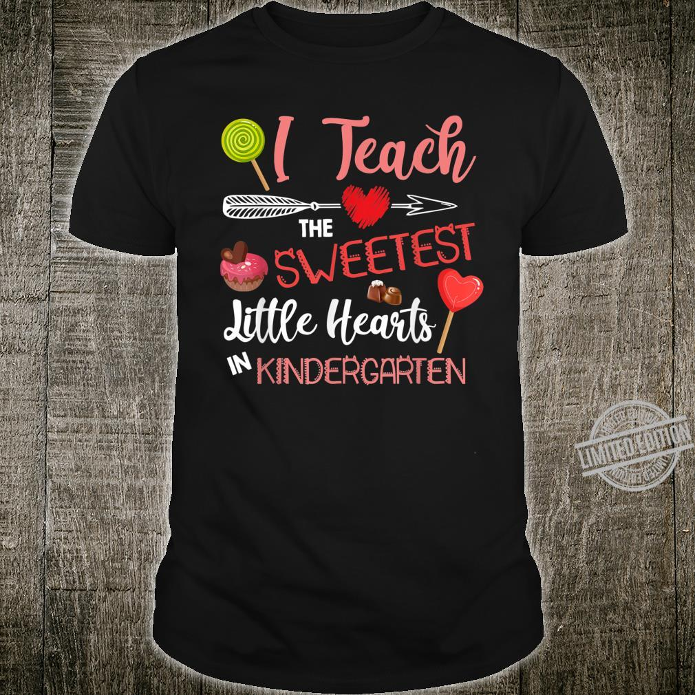 Teacher Sweetheart Kindergarten Teacher Preschool Tiny Human Shirt