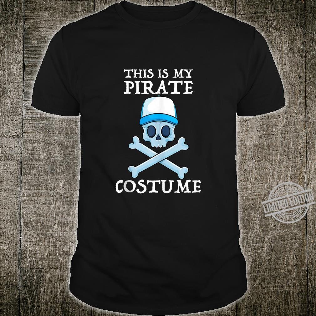 This Is My Pirate Costume Cruise Lazy Halloween Boys Shirt