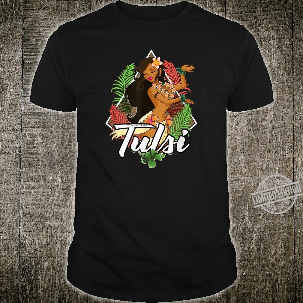 Tulsi Gabbard for President 2020 Hula Girl Hawaii Shirt