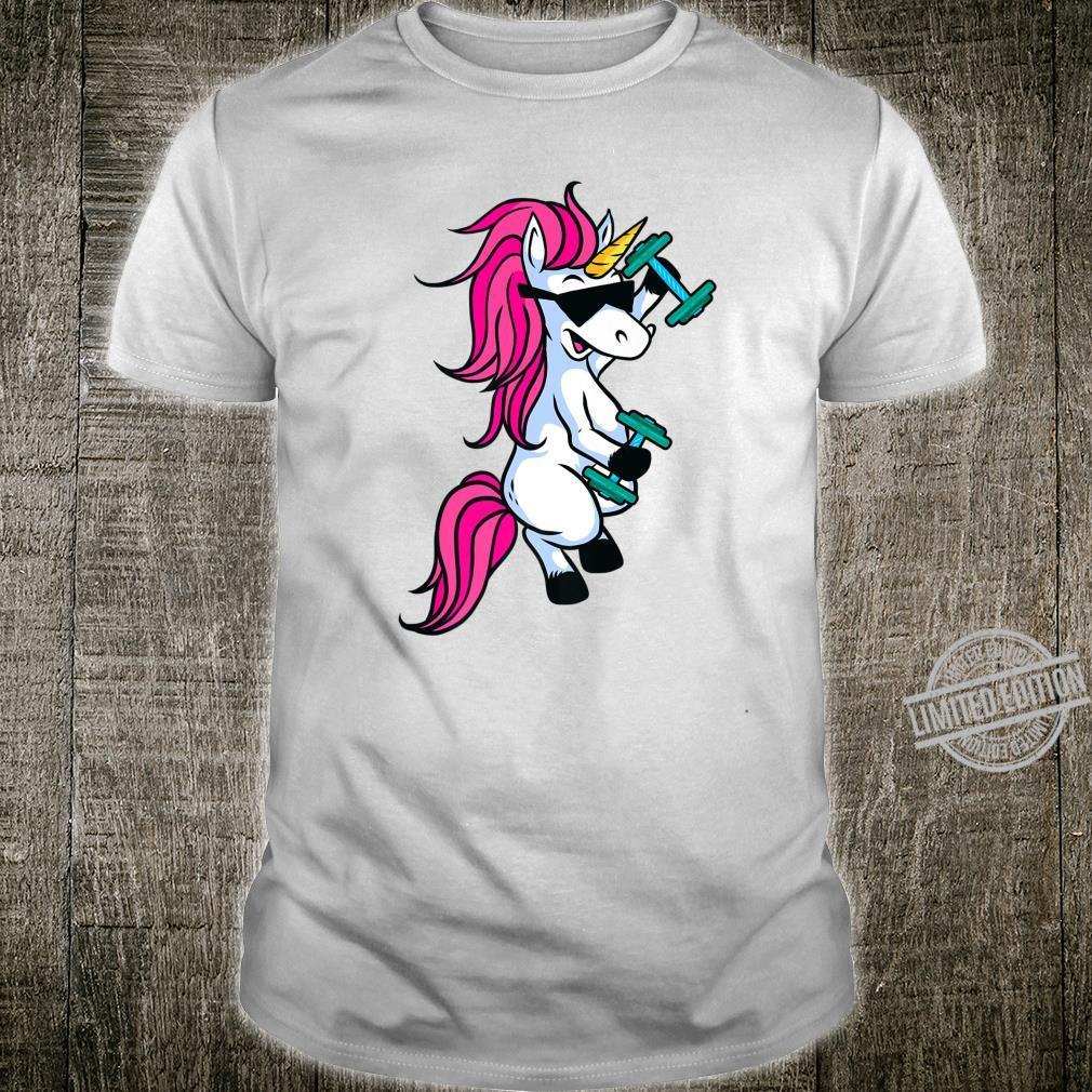 Unicorn Weightlifting Fitness Gym Shirt