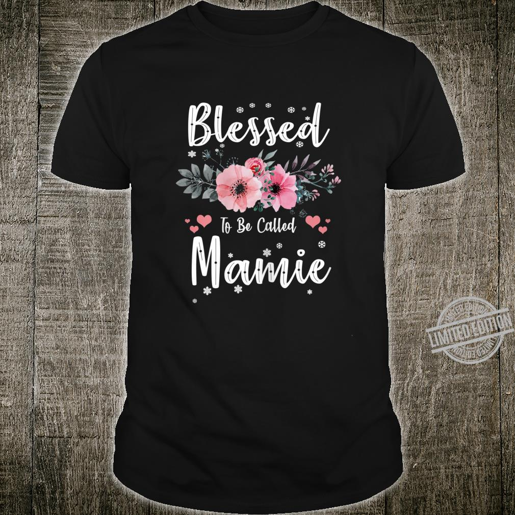Womens Blessed To Be Called Mamie Shirt Mothers Day Shirt
