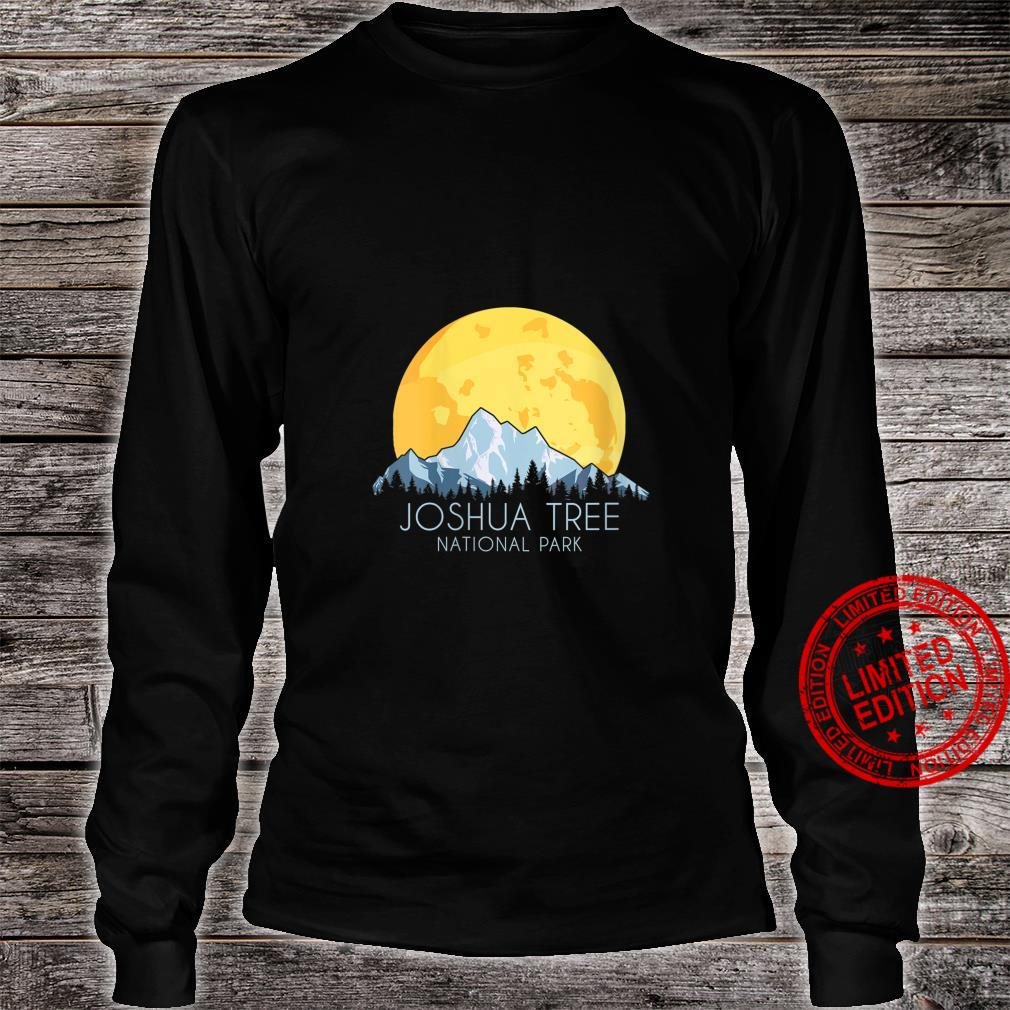 Womens Joshua Tree National Park Souvenir Shirt long sleeved