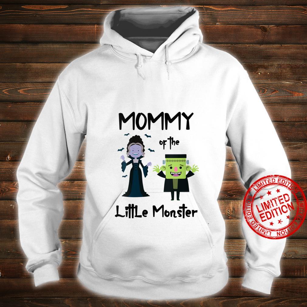 Womens Mommy Of The Little Monster Halloween Family Monster Shirt hoodie