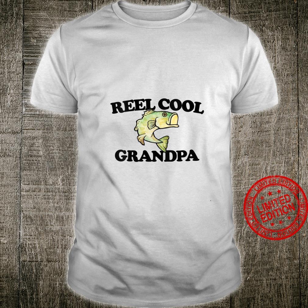 Womens REEL cool Grandpa fishing humor Shirt